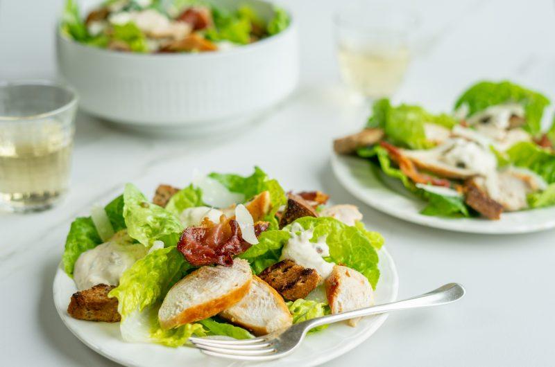 Frisse Caesar salade